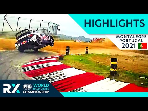 World RX Qualifying Highlights : Cooper Tires World RX of Montalegre 2021 : Portugal Rallycross
