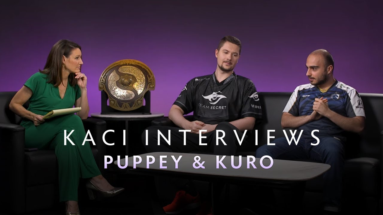 Puppey and KuroKy Interview with Kaci - The International 2019 - YouTube