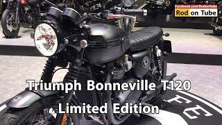 7. Triumph Bonneville Limited Edition - Bonneville T120 Ace & Bonneville T120 Diamond Edition