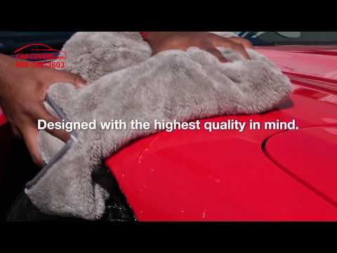 Introducing The All-New Platinum Quick-Dry Towel From CarCovers.com