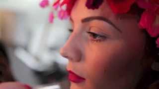 India at Vision Model Management shoot for NADIA RYDER