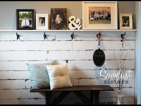 How to Create an Accent Wall Using Plywood