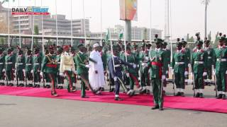 2017 Armed Forces Remembrance Day: Buhari's march-past