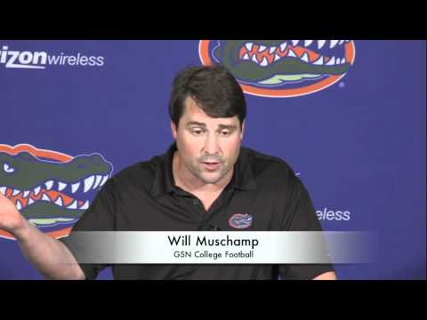 0 Will Muschamp Talks About Nick Saban
