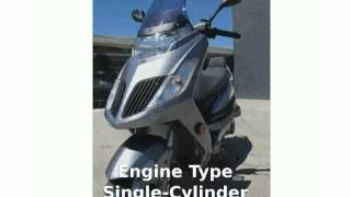 6. 2012 KYMCO Yager 200i -  superbike Features Transmission Info Details Top Speed Specification