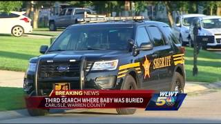 Third search underway where baby remains were foundSubscribe to WLWT on YouTube now for more: http://bit.ly/1ipUX3cGet more Cincinnati news: http://wlwt.comLike us: http://facebook.com/wlwt5Follow us: http://twitter.com/WLWTGoogle+: https://plus.google.com/+wlwt