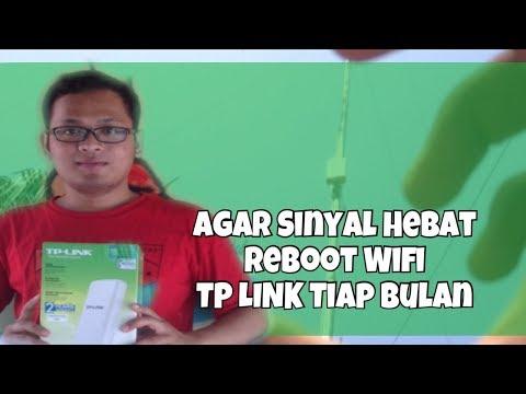 Tutorial Internet Lancar, Sinyal Wifi Kuat - Reboot Factory TP LINK TL WA 7210N AP Hotspot