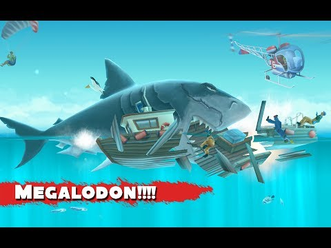 Hungry Shark Evolution Megalodon (full upgrade)