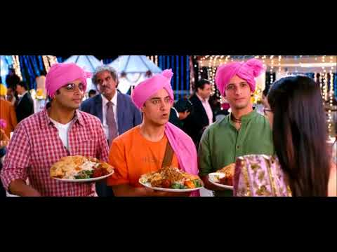 3 Idiots Movie| Marriage Scene Best Comedy Ever| MovieScene4Me| MS4M
