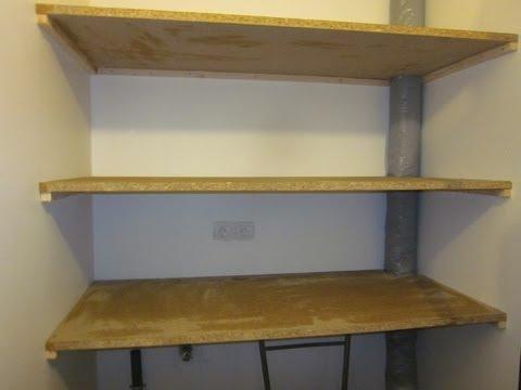Comment monter etagere metal la r ponse est sur - Comment poser une etagere ...