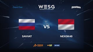 Savvat vs nexok40, game 1