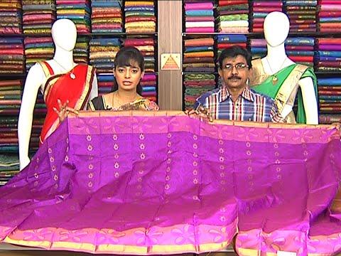 Latest Collection of Kanchi Pattu and Fancy Sarees | Sogasu Chuda Tarama | Vanitha TV 22 July 2015 10 36 AM