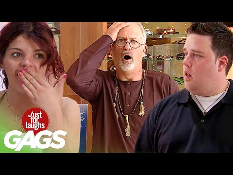 Best of Paranormal Pranks Vol. 3 | Just For Laughs Compilation