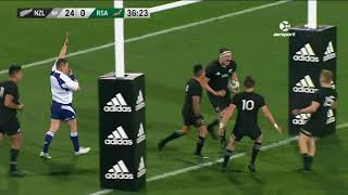 New Zealand vs South Africa 1st Test 2017 Rugby Championship Video Highlights