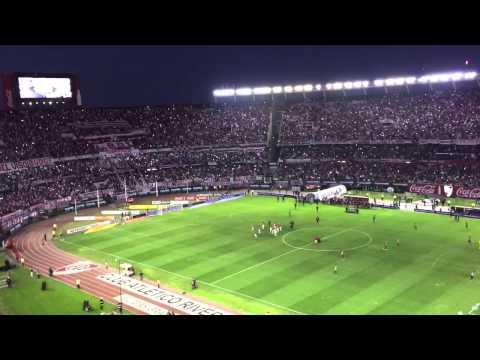 Video - River Plate vs Rosario Central - Recibimiento de la hinchada (31/05/2015) - Los Borrachos del Tablón - River Plate - Argentina