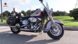 8. Used 2005 Harley Davidson FLSTC Heritage Softail Classic