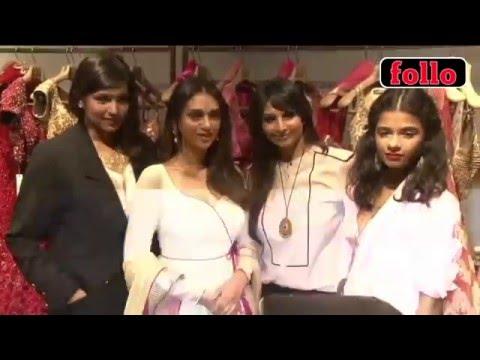 Aditi Rao Hydari Unveils Wazir Collection!