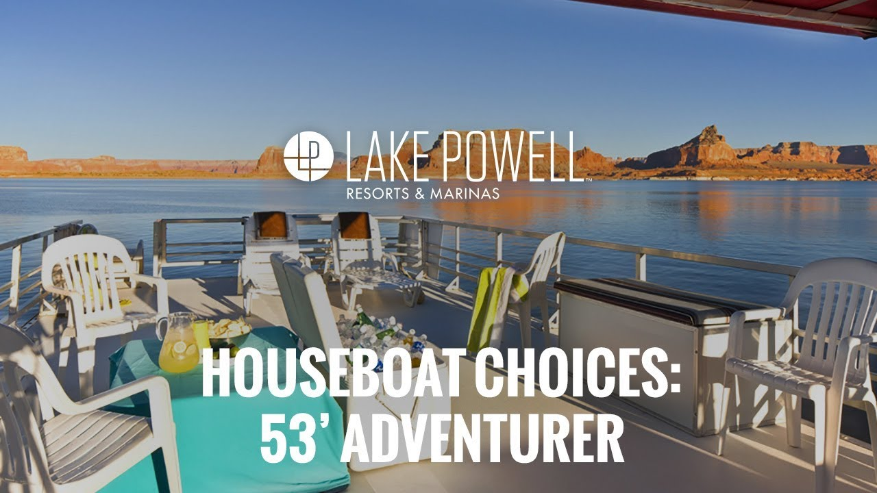 the adventurer economy houseboat available for rent at lake
