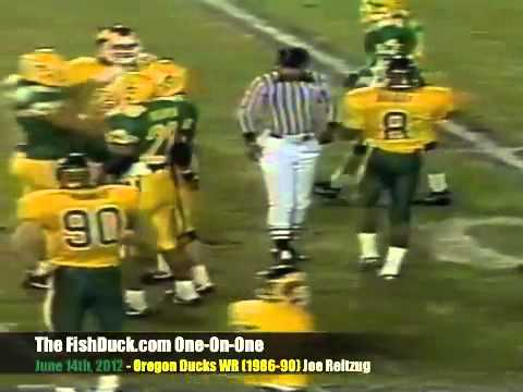 FishDuck One-On-One: Oregon WR Joe Reitzug (1986-90)