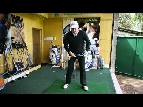 Backswing Hip Tilt Golf Lesson