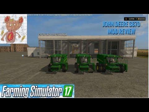 John Deere S670 RowTrac v1.0