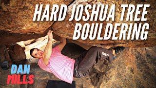 Joshua Tree Bouldering with Dan Mills by Giant Rock