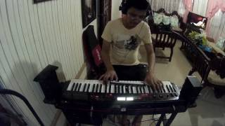 Video Bruno Mars - Versace On The Floor Keyboard cover with Lead Part download in MP3, 3GP, MP4, WEBM, AVI, FLV Mei 2017