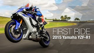 2. 2015 Yamaha YZF-R1 First Ride - MotoUSA