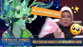 Download Video Putri Doyong Nyanyi Lagu Nike Ardila, Melly Goeslow Nangis! | The Mask Singer S3 Eps. 7 (2/6) 2018 MP3 3GP MP4