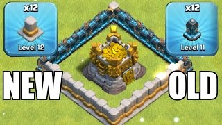 OLD WALLS vs. NEW WALLS!!!🔸GEM SPREE TO LVL 12 UPGRADES!!🔸Clash of clans
