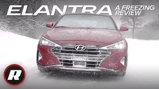 2019 Hyundai Elantra Sedan: Refreshed and affordable | Review and Snow Drive