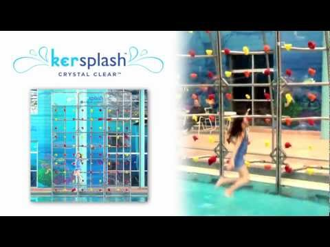 Kersplash Pool Climbing Walls