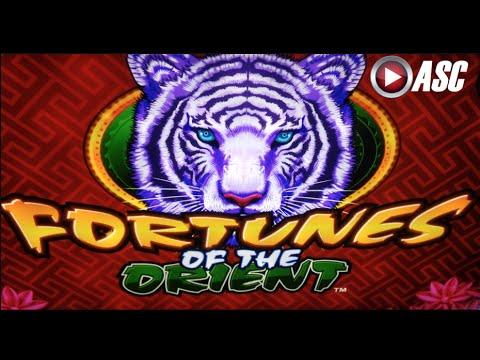 FORTUNES OF THE ORIENT | Konami - Nice Win! Mirror Reels Slot Machine Bonus 5¢