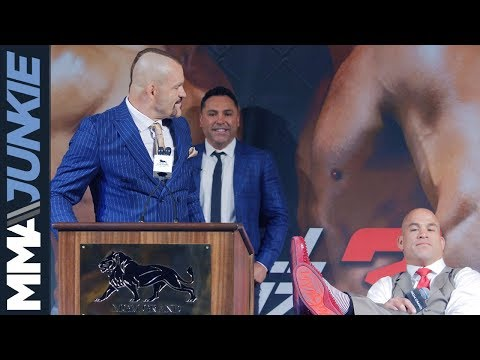 Chuck Liddell vs. Tito Ortiz fighter comments from press conference