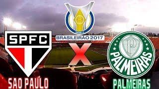 Assista os Melhores momentos e gols do jogo São Paulo 2 x 0 Palmeiras (27/05/2017) Campeonato Brasileiro 2017 - 3° Rodada.