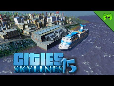 CITIES SKYLINES # 15 - Die rechts Insel wird bebaut «» Let's Play Cities Skylines | HD60