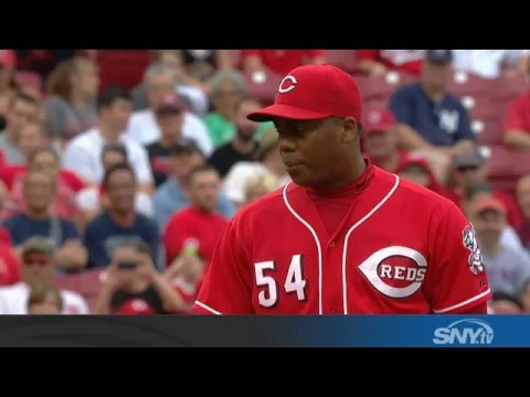Video: Aroldis Chapman named Yankees closer