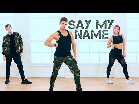 Fitness - Say My Name - David Guetta, Bebe Rexha & J Balvin  Caleb Marshall  Dance Workout