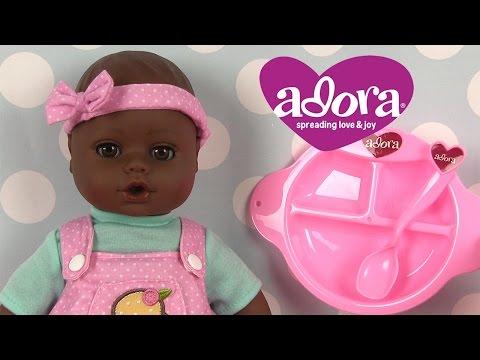 Poupon Bébé Adora Coffret Repas Vêtements de poupées Baby Doll Adora Feeding Set and Clothes