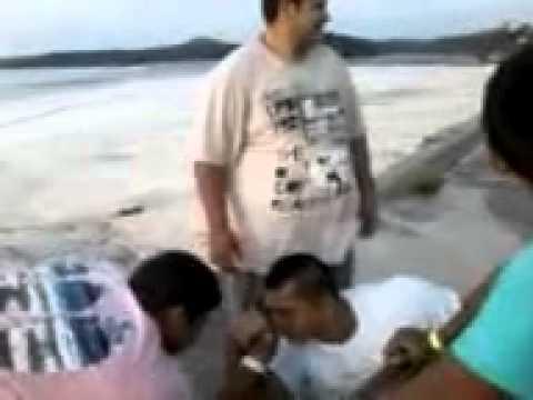 Queda de braço em São Gabriel da Cachoeira Caio bombado; Hulk sqn