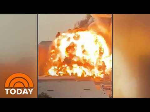 Massive Explosion In Beirut Kills At Least 100 | TODAY