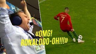 Video When Commentators Went CRAZY After Cristiano Ronaldo Goals 😱 MP3, 3GP, MP4, WEBM, AVI, FLV Maret 2019