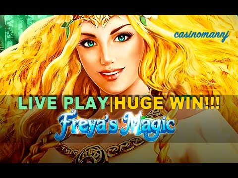 FREYA'S MAGIC SLOT  *YOU GOTTA SEE THIS* HUGE WIN! – Slot Machine Bonus