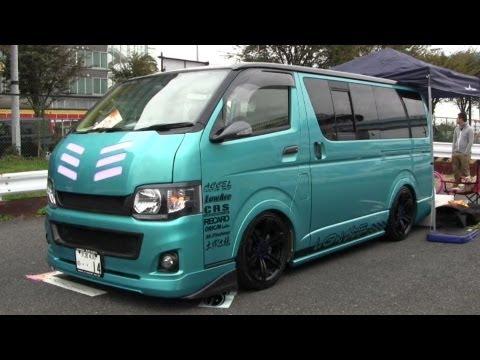 Part2 2012 HIACE CUSTOM CAR SHOW JAPAN TOKYO SBM スタイルボックスミーティング