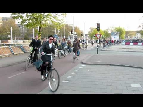 Bicycle Rush Hour Utrecht (Netherlands)