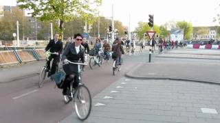 Utrecht Netherlands  City pictures : Bicycle Rush Hour Utrecht (Netherlands) III