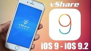 How To Install vShare iOS 9.2  - Paid Apps FREE Without Jailbreak iOS 9 - (iPad Pro Also), ios 9, ios, iphone, ios 9 ra mat