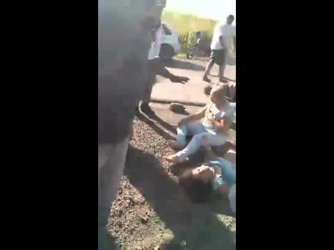 Acidente na BR 408 em Timbaúba, Mata Norte   Créditos Danilo Cezar