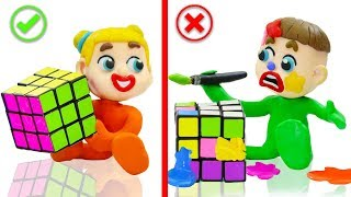 Video SUPERHERO BABY PLAYS COLORS RUBIKS CUBE 💖 Play Doh Cartoons Animation MP3, 3GP, MP4, WEBM, AVI, FLV Mei 2019