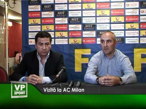 Vizită la AC Milan